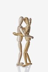 Two Manikins Embracing