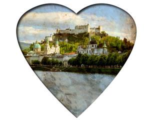 Weisses Herz - Salzburger