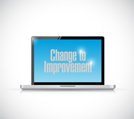 change to improvement computer laptop