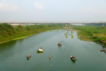 Le pont Long Bien à Hanoi