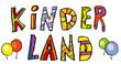 Kinderland Kinder Schrift