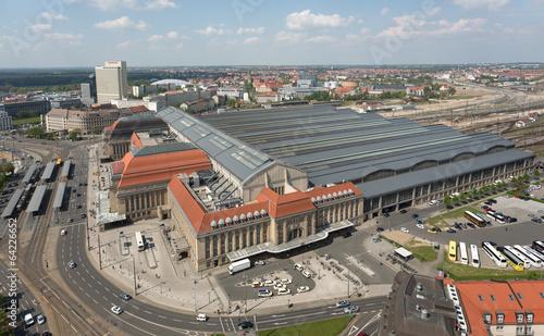 Leinwandbild Motiv Hauptbahnhof Leipzig