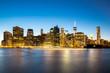 Obrazy na płótnie, fototapety, zdjęcia, fotoobrazy drukowane : New York City Manhattan skyline