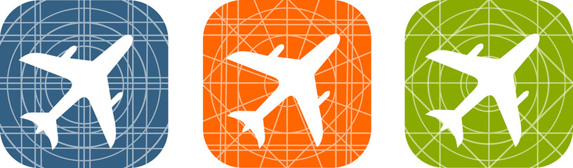 icônes d'avion