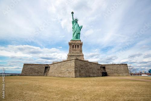 Leinwanddruck Bild Statue of Liberty New York City