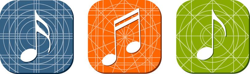 Icônes musique