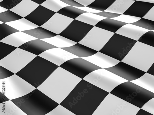 Foto op Plexiglas Motorsport Checkered flag texture.