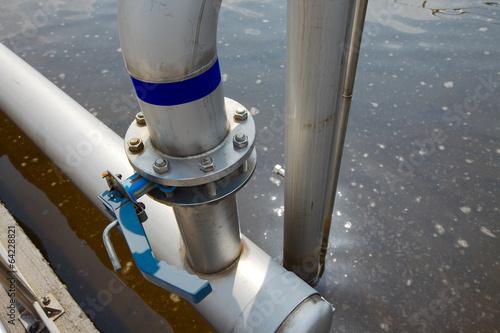 Foto op Plexiglas Kanaal Wastewater