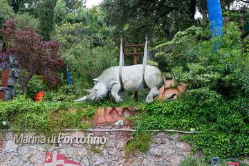 statue in portofino