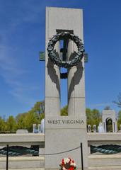 World War II Memorial - Flowers