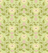 Seamless wallpaper pattern. Floral background