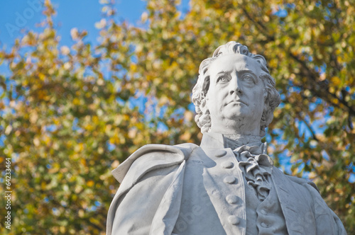 Statue of Johann Wolfgang von Goethe at Berlin, Germany