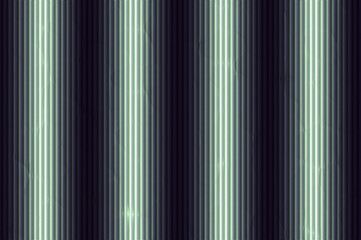 Decorative vertical striped lighting relief wall - neon.