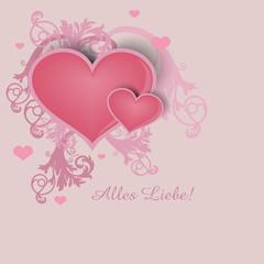 Herz zum Muttertag