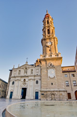 La Seo Cathedral at Zaragoza, Spain