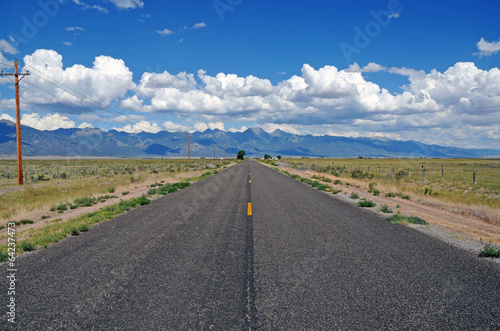 Fotobehang Natuur Park Driving in the Sangre de Cristo Range, Colorado Rockies