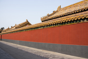 Alley in the forbidden city