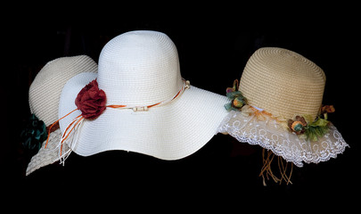 Lady Hat in display shop
