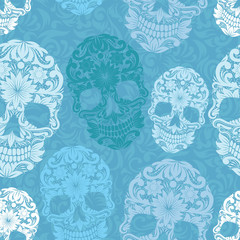 Skull pattern classic