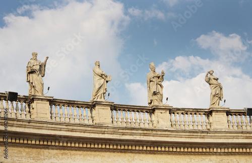 The Vatican Bernini's colonnade in Rome - 64240266