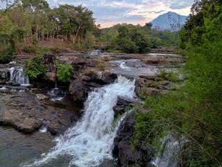 Tad Lo Waterfall, Bolaven Plateau, Pakse, Southern Laos, Asia
