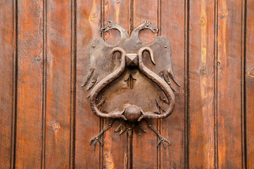 Habsburg Door Knocker in Ronda
