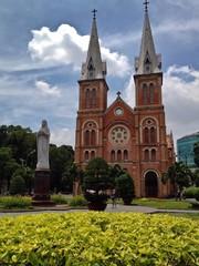 Notre Dame Saigon Basilica Cathedral, Ho Chi Minh City, Vietnam
