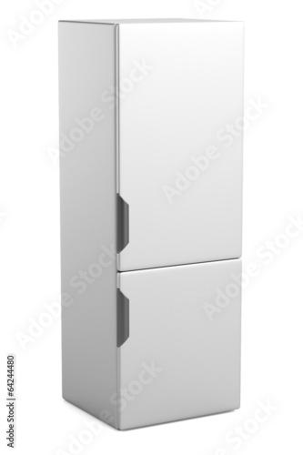 realistic 3d render of fridge
