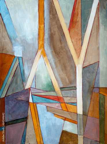 Fototapeta an abstract painting
