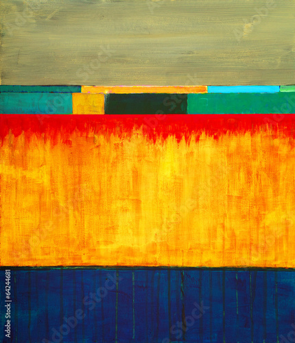 Obraz an abstract painting
