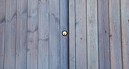 Key Lock and Door Wood Panels Background Texture.
