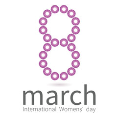 Creative design for International Women's day