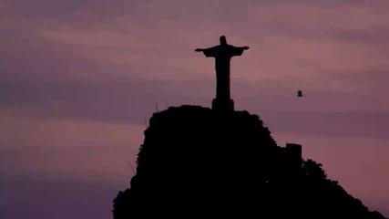 Статуя Спасителя в Рио-де-Жанейро