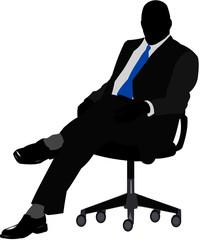manager seduto