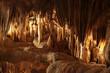 Leinwanddruck Bild - Les grottes....