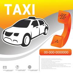 car taxi template