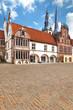 Rathaus von Lemgo am Marktplatz