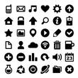 Universal Simple Web Icons Set