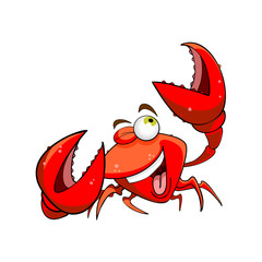marine crab cartoon