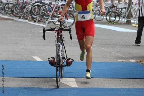 Papiers peints Individuel Triathlon transition
