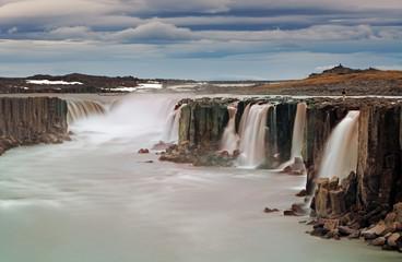 Selfoss waterfall in Vatnajokull National Park, Northeast Icelan