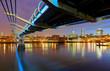Millenium Bridge in London, England