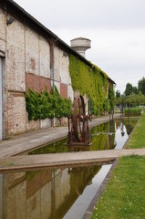 Jardin de la cité nature à Arras