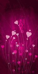 Background art heart