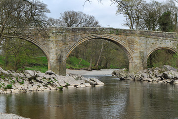 Devils Bridge over the River Lune Yorkshire