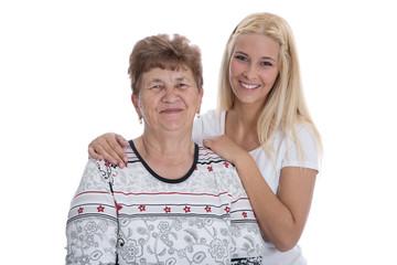 Generation: Mutter und Tochter