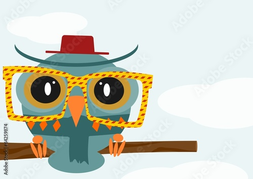 Owl illustration - 64259874