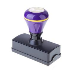 purple stamp