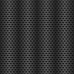 Repeatable metal, carbon texture