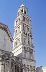 Bell Tower in Split, Croatia
